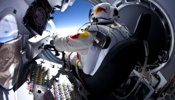 GoPro Video Of Record-Setting Red Bull Parachute Jump!