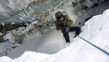 SEALs conduct mountain warfare training in the Alps