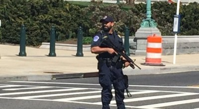 Breaking: shots fired at Capital Hill visitors center