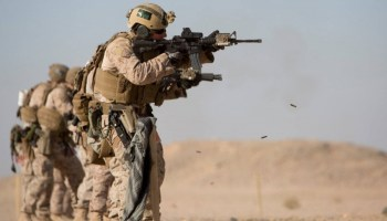 Death of U.S. Marine in Iraq highlights use of troops from Navy ships in ISIS war