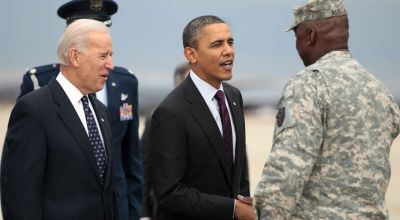 Shifting blame, White House faults war general's 2014 ISIS assessment as he departs