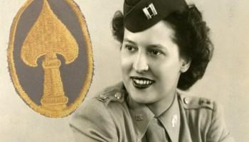 Watch: Office of Strategic Services (OSS) veteran Maj. Stephanie Rader