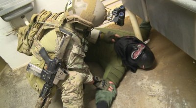 Watch: Army Special Forces conduct close-quarters combat training