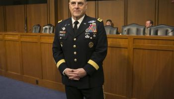 Army Chief of Staff Opposes Private Weapons for Protection on U.S. Military Installations