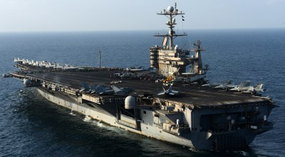 China Refuses U.S. Aircraft Carrier Permission for Port Call in Hong Kong Harbour