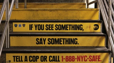 If you see something, make sure it's actually something before you call it terrorism