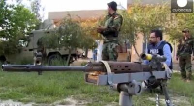 Watch: ISIS Remote Controlled Rifle Found by Kurdish SOF