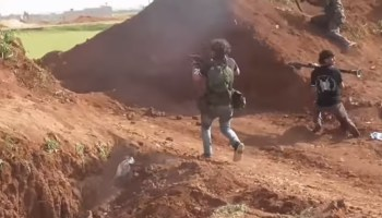 Watch: The Free Syrian Army Deter an ISIS Attck