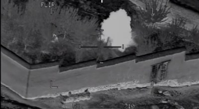 Watch: As an Apache Pilot Guides a Soldier's Grenades on Target