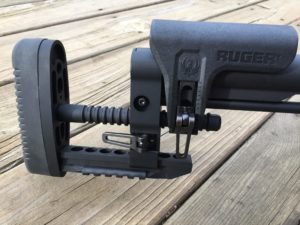 Ruger Precision Rifle Adjustable Buttstock