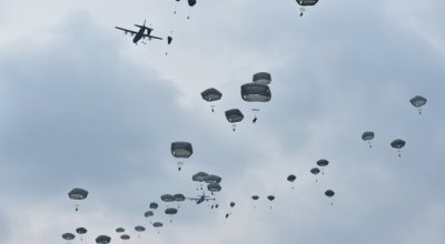 Watch: 1,000 Paratroopers Take to Sky Over Germany