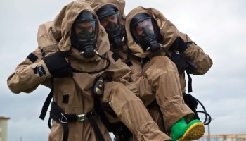 CBRN Marines train to clean up HAZMAT