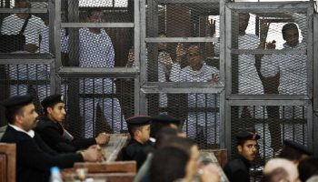 Egypt court recommends death for 2 Al-Jazeera employees