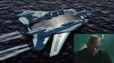 Comic Myth: A Russian Flying Aircraft Carrier – Nick Fury Would Not Be Happy