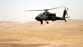 ENDEX! Soldier Shoots Apache Gunship with Live Rounds, at National Training Center