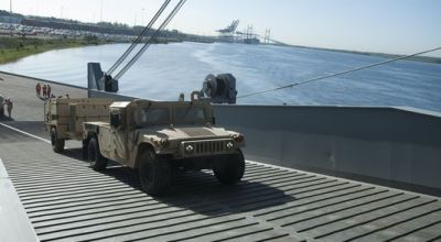 Army stretches its sea legs with first sealift exercise in 15 years