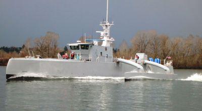 Military Robots: ACTUV Submarine Hunter