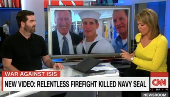 Watch: Former Navy SEAL Brandon Webb on CNN as the second video emerges of deadly attack on Navy SEALs