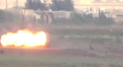 Watch: A $58,908 Kill – TOW Missile Blasts Daesh [ISIS/ISIL] Dismount