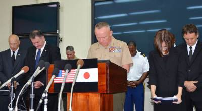 US military in Japan agrees to restrict troops' movements after Okinawa murder