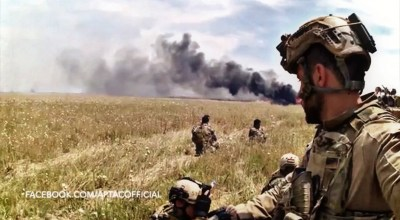 Watch: Peshmerga Special Forces engage in a heavy firefight with ISIS