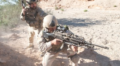 Watch: A Lucky Weapon Jam – American Forces React to a Taliban Ambush