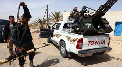 Libyan forces taking back ISIS stronghold