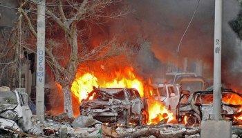'Al-Shabaab' gunmen kill at least 10 in attack on Mogadishu hotel