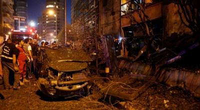 Lebanon's interior minister says Beirut blast targeted bank