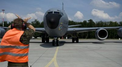Dozens of U.S. Air Force aircraft in Europe for major counter-Russia drills