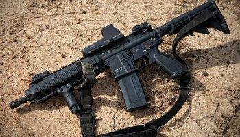 Former Army Ranger Nick Irving reviews the Heckler & Koch 416 A5