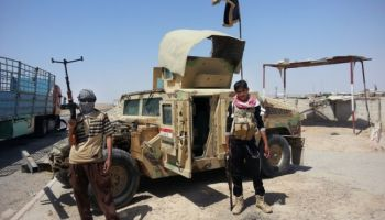 Two-Thirds of the HMMWV's the U.S. Supplied to Iraq, are Still in the Hands of Daesh (ISIS)