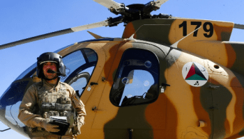 MD-530 Helicopter of Afghan Air Force