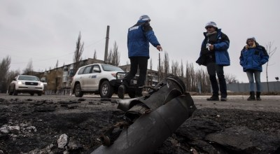 Russian-backed Separatist target OSCE observers in Ukraine
