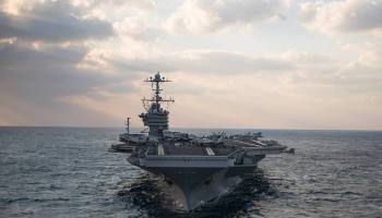 2000th Strike Against ISIS for USS Harry S Truman