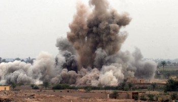 Iraqi forces: Small number of airstrikes slow Fallujah push