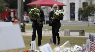Obama meets Orlando massacre survivors, assails homegrown terrorism