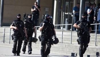 Gunman at cinema complex shot dead