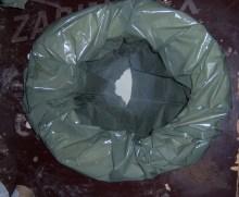 "An unused ""wag bag"""