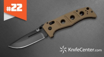 Top 25 Pocket Knives that are Indispensable: #22 Benchmade 275 Adamas