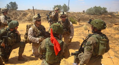 Israeli Special Forces relay experience to US Marines – train to combat Daesh (ISIS)