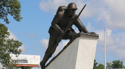 Memorial to first black Marines dedicated at Camp Lejeune