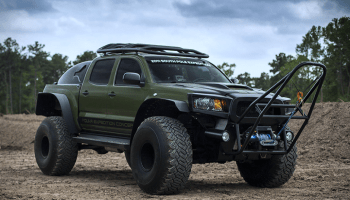 NOW YOU CAN OWN THE MONSTER TOYOTA TACOMA THAT CONQUERED THE SOUTH POLE