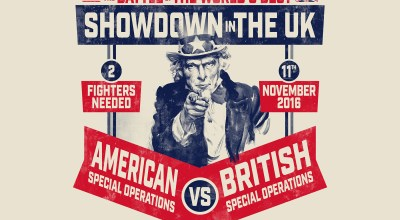 Showdown in the UK: We want you to box for charity!