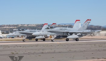 Update: USMC Identifies F-18C Pilot From Thursday Fatal Crash