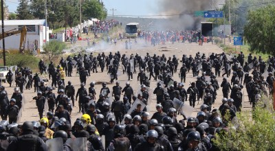 Nine dead and dozens injured in deadly protests in Mexico