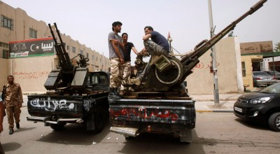 Libyan forces battling Islamic State in Sirte suffer losses in push to advance