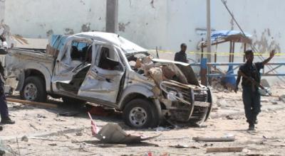 13 people killed in Somali suicide bombing claimed by al Shabaab