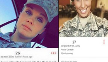 Worst hook-up ever! Swipe left on unprofessional military recruiting practices