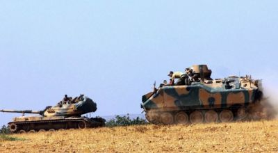 Turkey launches operation to free Syrian border town from ISIS control